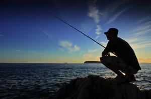 Pêche en bord de mer