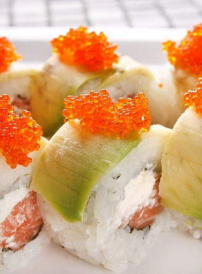 Ura-makizuchi - california rolls