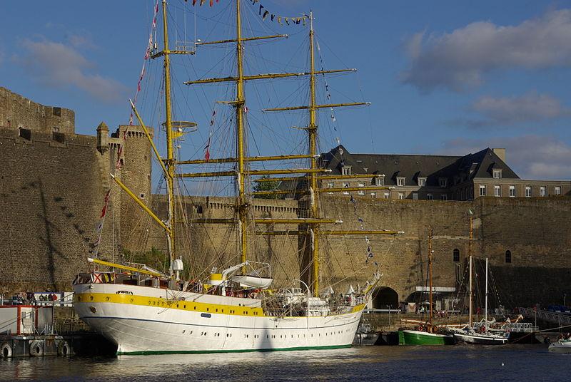 Gréement dans la rade de Brest - Tonnerres de Brest