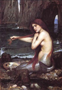 John William Waterhouse - Mermaid - 1900