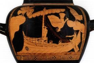 Sirène et Ulysse Stamnos (480-470 avant JC)