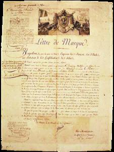 lettre de marque