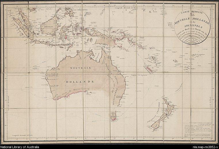 Australie par Beautemps Beaupré(1792-1793)