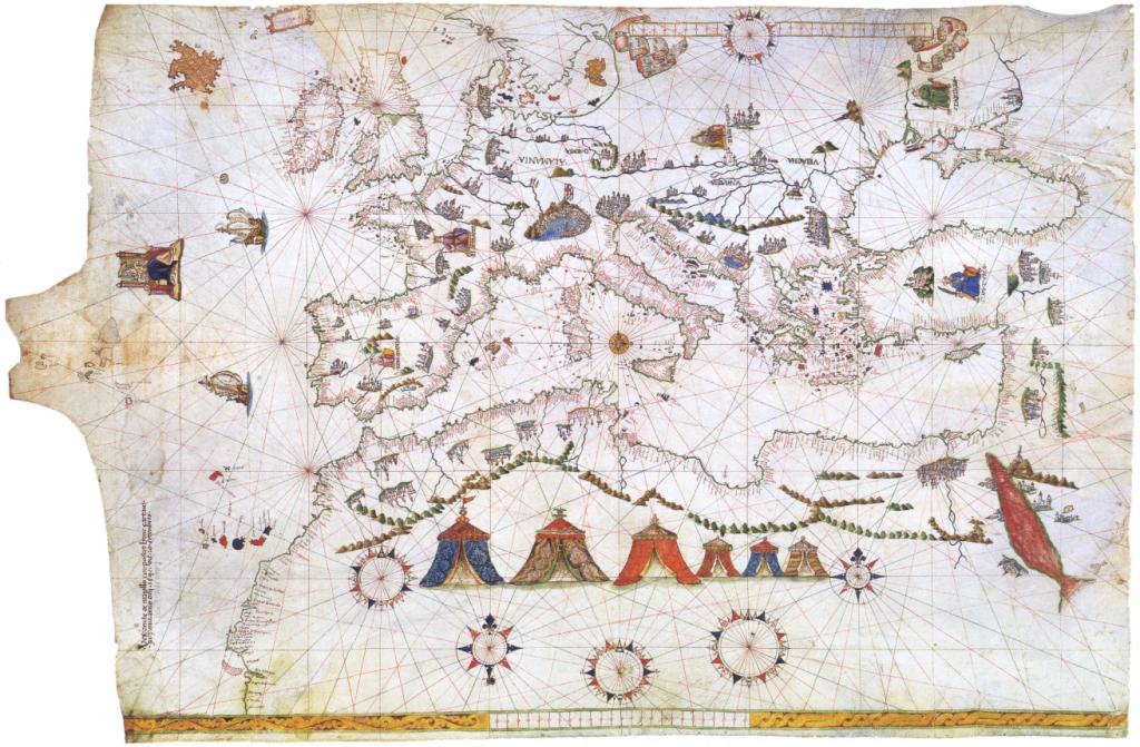 Portulan de Maggiolo 1541