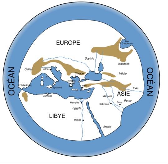 la terre selon les grecs - jimdo.com