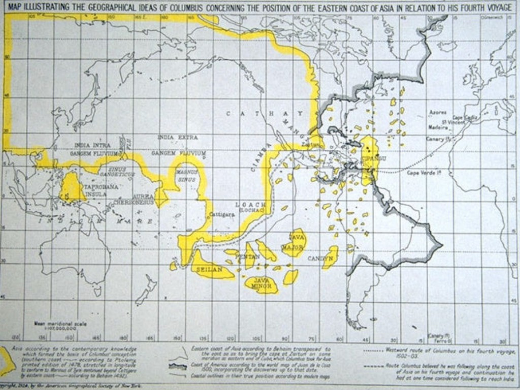 le monde selon Colomb