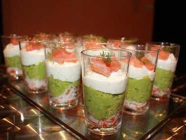 verrine saumon avocat