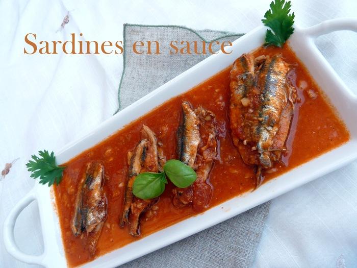 sardines en sauce à l'algérienne
