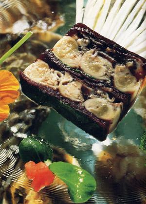 huîtres verrines océane